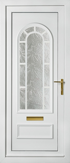 UPVC Front Door with Classic Collection Peterborough