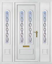 Madrid 2 Crystal Tucana & Side Panel UPVC Doors Peterborough
