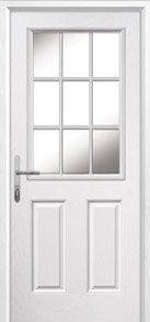 2 Panel 1 Grill Composite Back Doors Peterborough