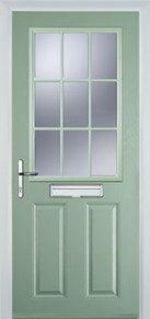 2 Panel 1 Grill Composite Doors Peterborough