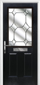 2 panel 1 square Composite Door Peterborough