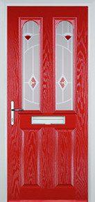 Red Composite Door Peterborough
