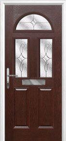 2 Panel 2 Square 1 Arch Composite Doors Peterborough