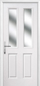 4 Square Glazed Composite Back Doors Peterborough