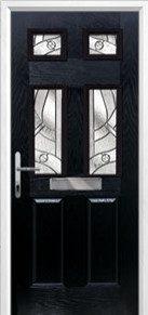 2 Panel 4 Square Composite Doors Peterborough