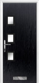 3 sqaure glazed Composite Door Peterborough