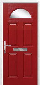 4 Panel 1 Arch Composite Doors Peterborough