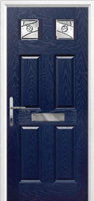 4 Panel 2 Square Composite Doors Peterborough