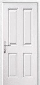 4 panel Composite Back Door Peterborough