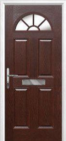 4 Panel Sunburst Composite Doors Peterborough