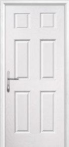 6 Panel Composite Back Doors Peterborough