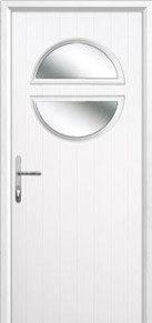 Circle Glazed Composite Back Doors Peterborough