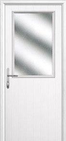 Cottage Half Glazed Compsoite Back Doors Peterborough
