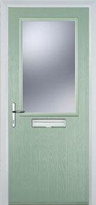 Cottage Half Glazed Composite Front Doors Peterborough