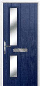 Twin Square Glazed Composite Doors Peterborough