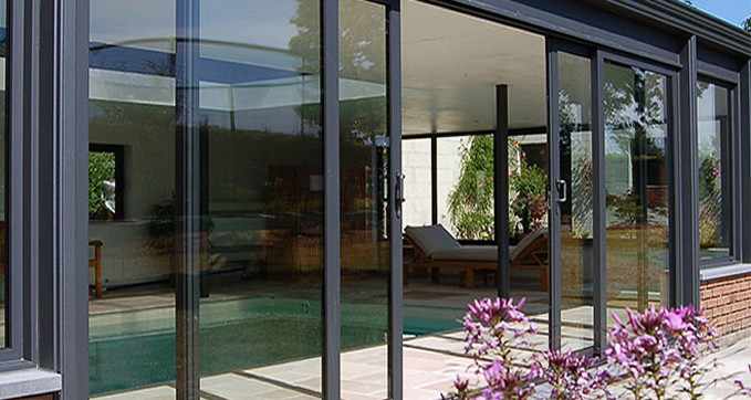 Patio doors peterborough composite doors upvc doors bi for Double wide patio doors