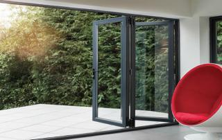 Alumina Liniar Bifold Doors Peterborough