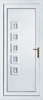 UPVC Back Door Collection Peterborough