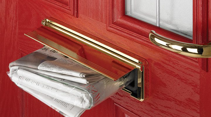 Red Composite Doors Peterborough