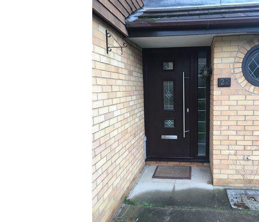 Brown Composite Door Peterborough