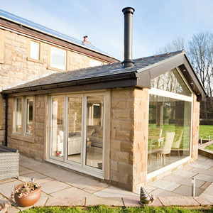 Conservatory with Tiled Roof Peterborough