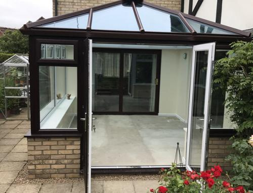 Glass Roof Conservatory Peterborough