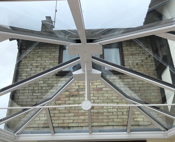 Selfcleaning Blue Tinted Conservatory Roof Peterborough