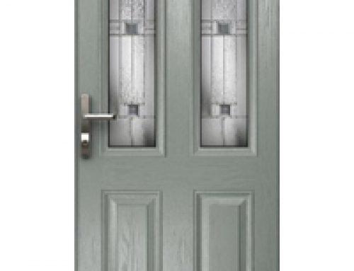 Composite door double glazing replacement